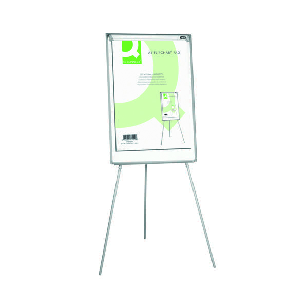 A1 Q-Connect Plain Flipchart Pad A1 40 Sheet (5 Pack) KF37002