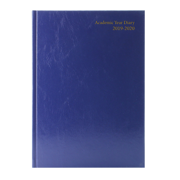 Academic Diary A4 Week to View 2019-20 Blue KF3A4ABU19