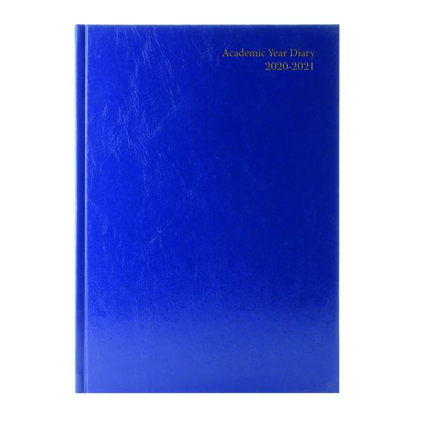Diaries Academic Diary Week to View A5 Blue 2020-21 KF3A5ABU20
