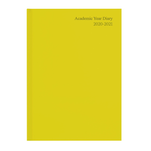 Academic Academic Diary Week to View A5 Yellow 2020-21 KF3A5AYL20