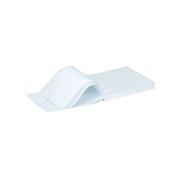 Plain Q-Connect Listing Paper 11 x 9.5 Inches 2-Part NCR Plain (1000 Pack) C2NPP