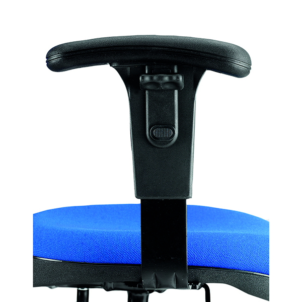 Jemini Adjustable Chair Arms Black (2 Pack) KF50164