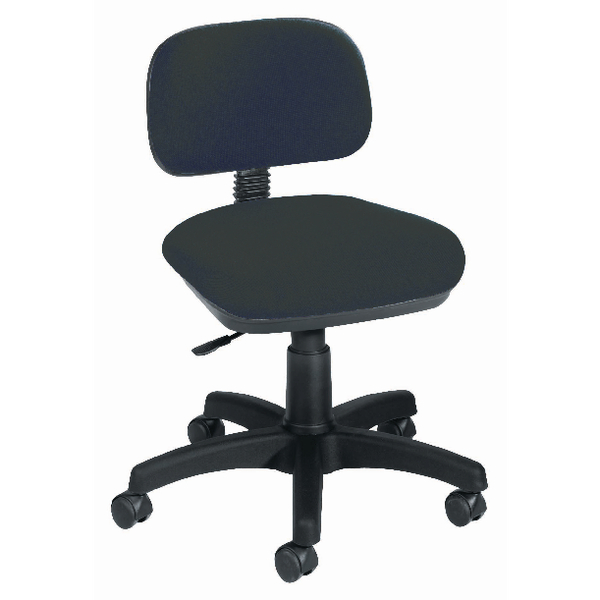 Jemini Gas Lift Typist Chair Charcoal KF50205
