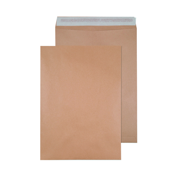 Q-Connect Envelope 458x324mm Pocket Self Seal 135gsm Manilla (125 Pack) 9011004