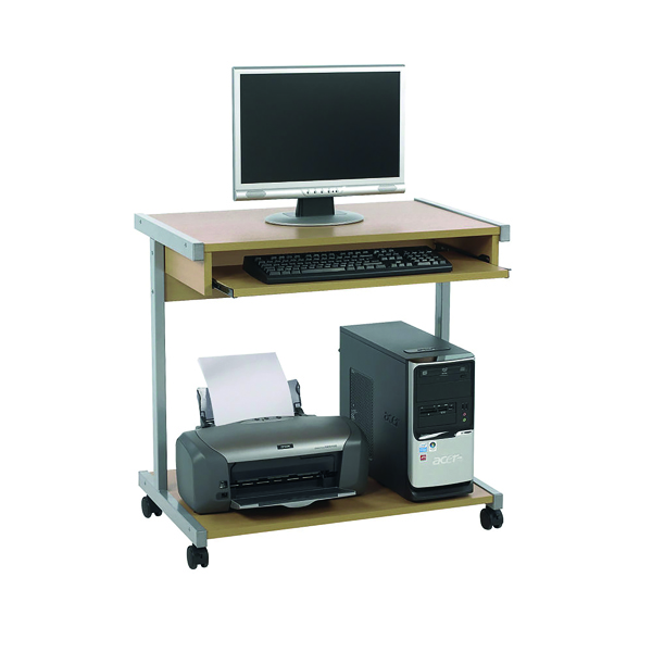Other Serrion Mobile Workstation Extra Wide 800mm Ferrera Oak ECS800OK
