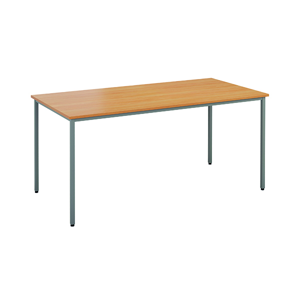 Rectangular Jemini Rectangular Desk 1600 x 800mm Beech OMPT1680RECBE2