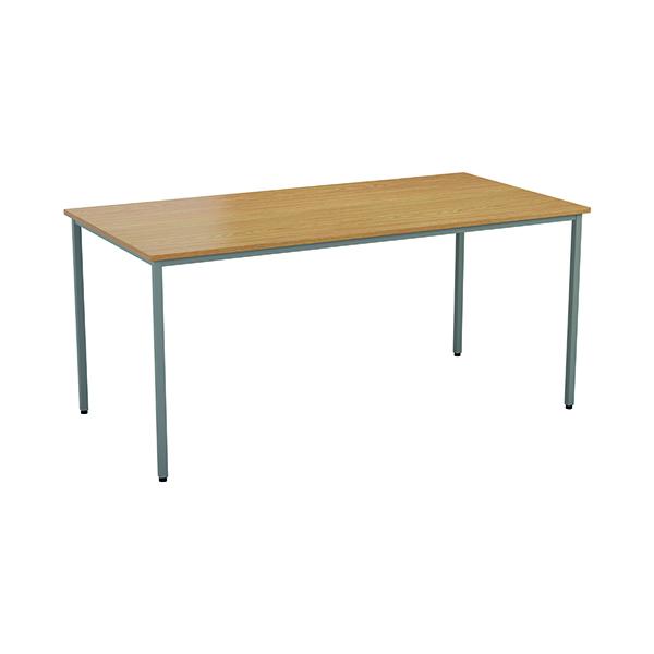 Rectangular Jemini Rectangular Desk 1600 x 800mm Nova Oak OMPT1680RECNO