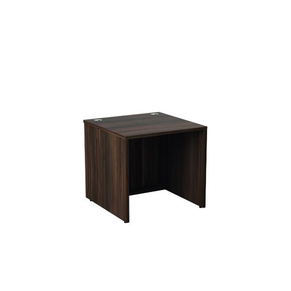 Reception Jemini Reception Modular Desk Unit 800mm Dark Walnut RCM800SBUDW