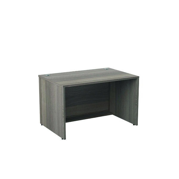 Reception Jemini Reception Modular Desk Unit 1200mm Grey Oak RCM1200SBUGO