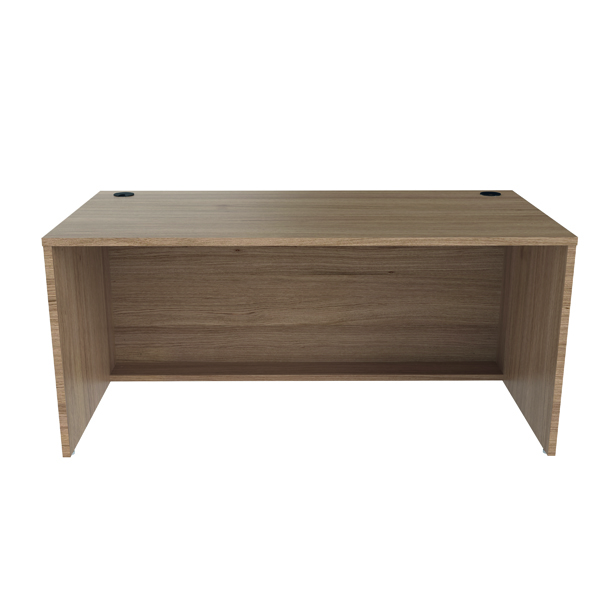Reception Jemini Reception Modular Desk Unit 1600mm Grey Oak RCM1600SBUGO