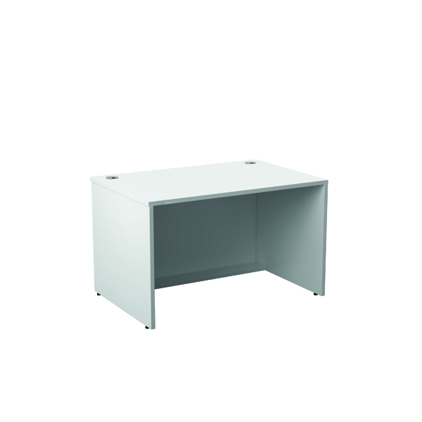 Reception Jemini Reception Modular Desk Unit 1200mm White RCM1200SBUWH