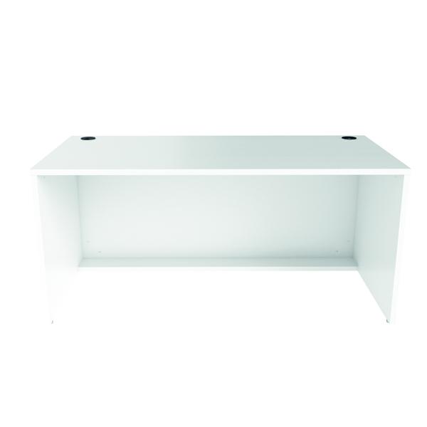 Reception Jemini Reception Modular Desk Unit 1600mm White RCM1600SBUWH