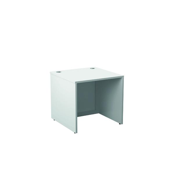 Reception Jemini Reception Modular Desk Unit 800mm White RCM800SBUWH