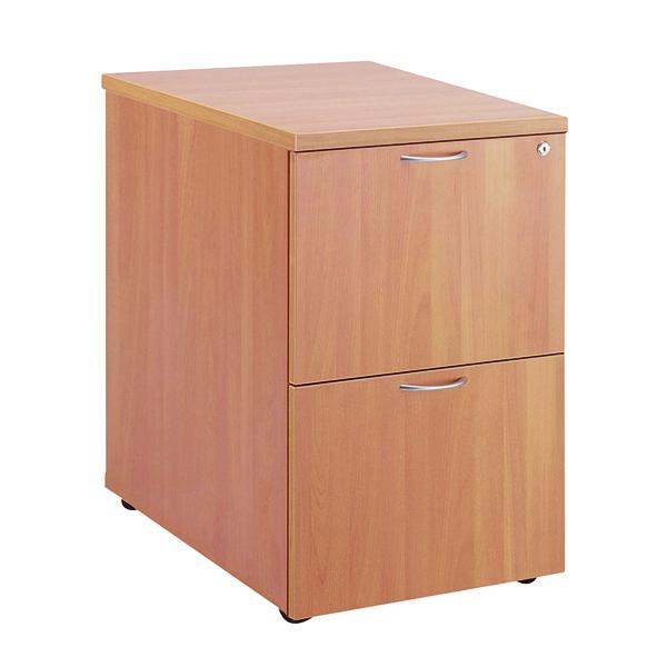 Jemini Beech 2 Drawer Filing Cabinet KF71955