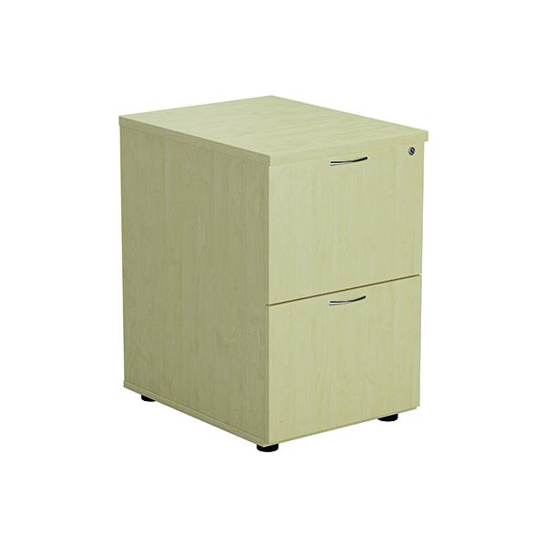 Jemini Maple 2 Drawer Filing Cabinet KF71957