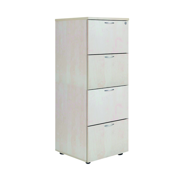 Four Drawer Jemini Maple 4 Drawer Filing Cabinet KF71960
