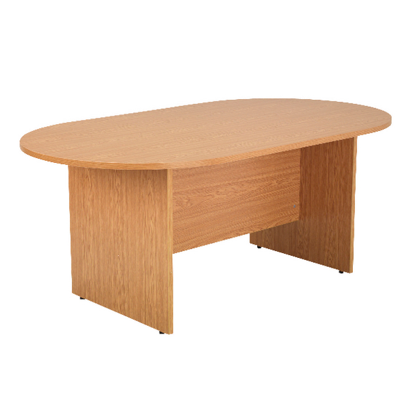 Office Arista Oak 1800mm Rectangular Meeting Table KF72040