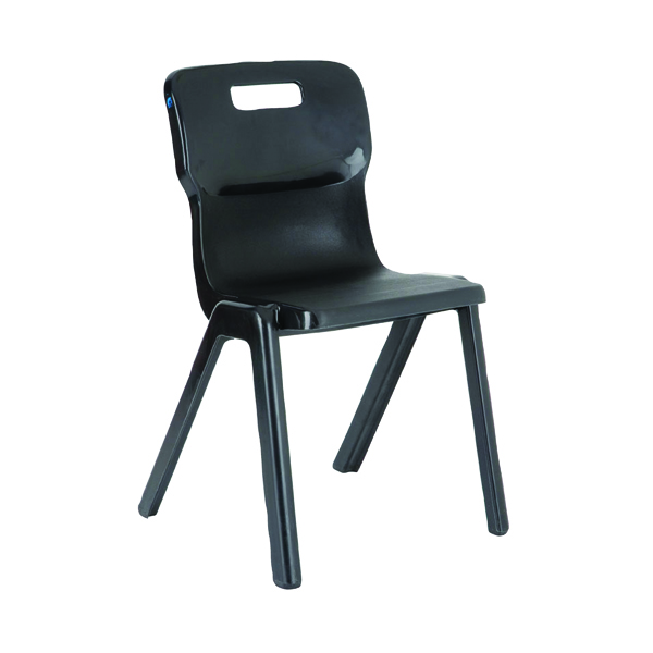 Seating Titan One Piece Chair 430mm Charcoal KF72172