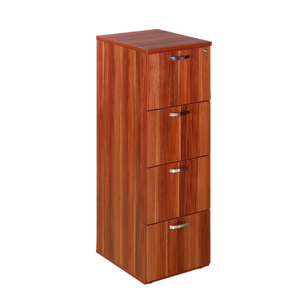 Four Drawer Avior Cherry 4 Drawer Filing Cabinet KF72322