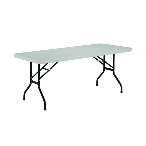 Folding Jemini White 1520mm Folding Rectangular Table KF72329