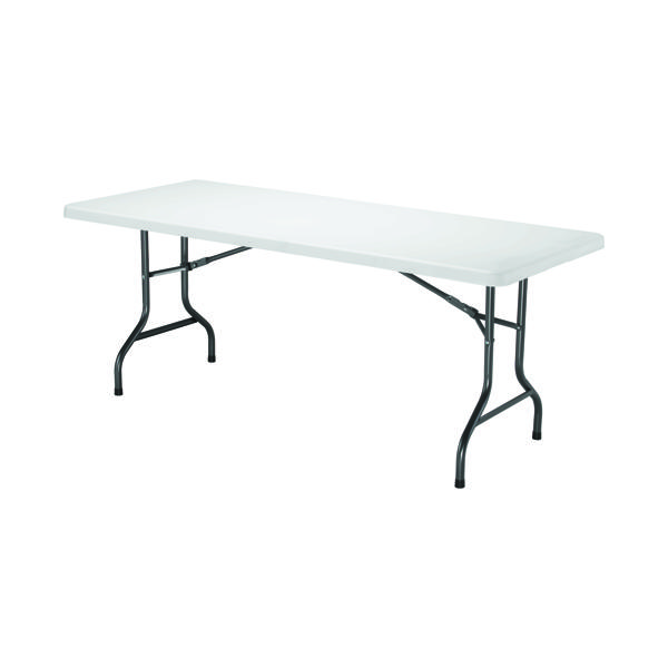 Folding Jemini White 1830mm Folding Rectangular Table KF72330