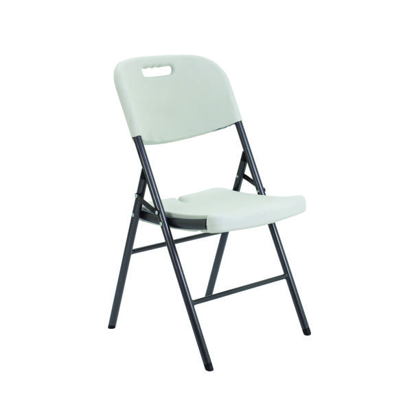 Jemini White Folding Chair KF72332
