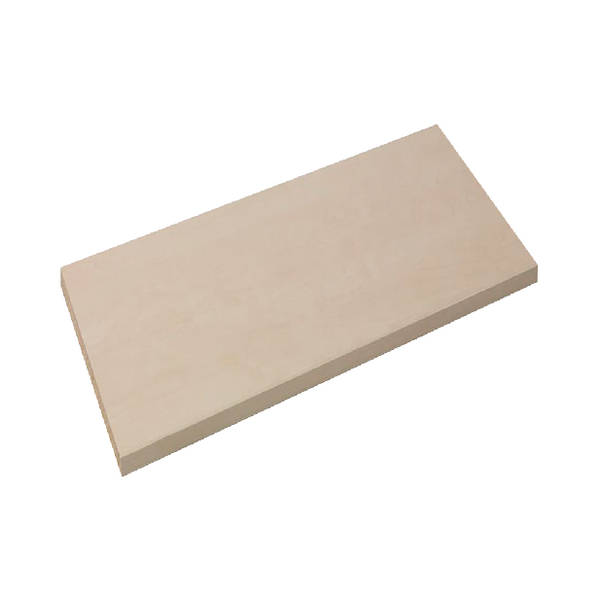 Arista Adjustable Wooden Maple Shelf KF72420