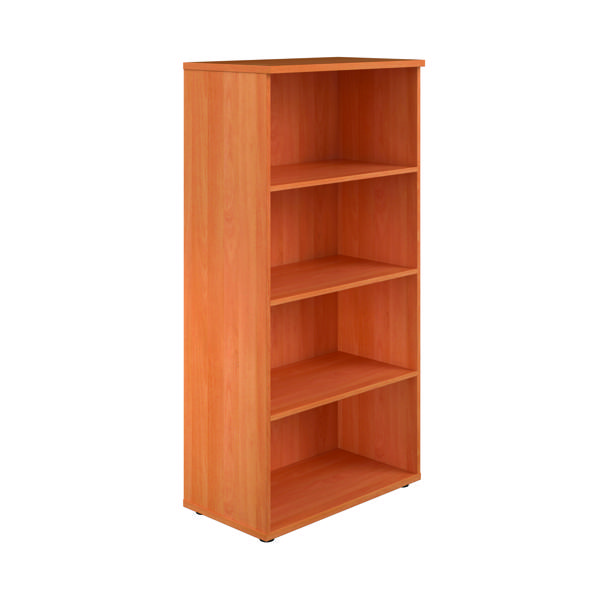 H over 1200mm Serrion Bavarian Beech 1750mm Large Bookcase KF73514