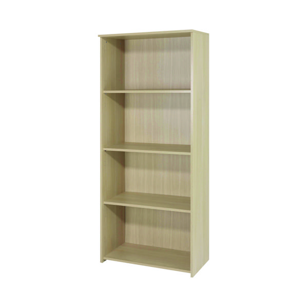 H over 1200mm Serrion Ferrera Oak 1750mm Large Bookcase KF73515