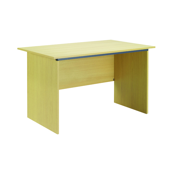 Unspecified Serrion Ferrera Oak 1200mm Panel End Desk KF73661