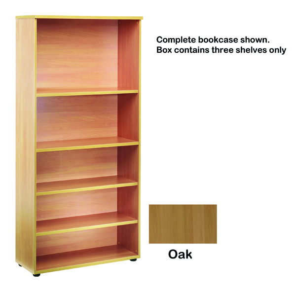 Fitments Jemini Open Storage Oak Shelf KF73699