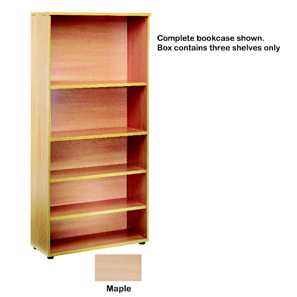 Fitments Jemini Open Storage Maple Shelf KF73715