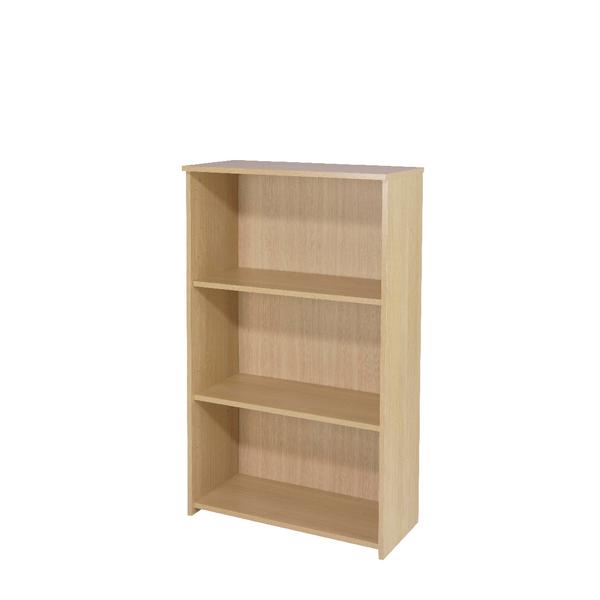 Serrion Warm Maple 1200mm Medium Bookcase KF73834