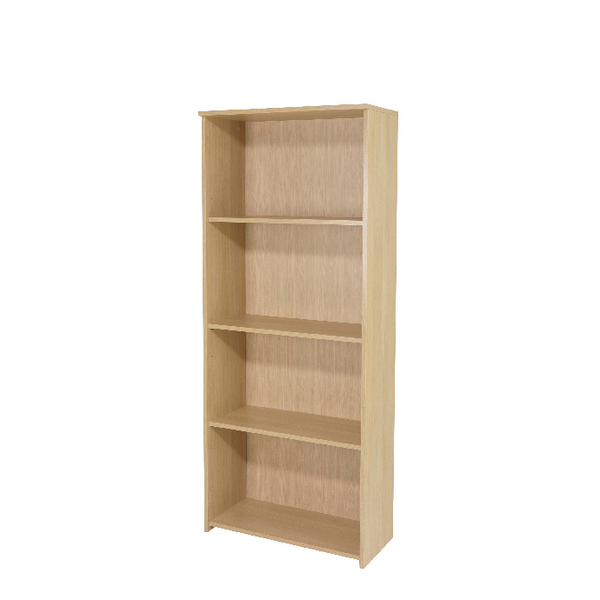 Serrion Warm Maple 1750mm Large Bookcase KF73835