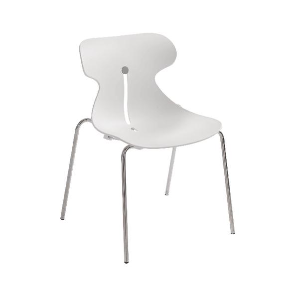 Arista Breakout Chair White KF73894