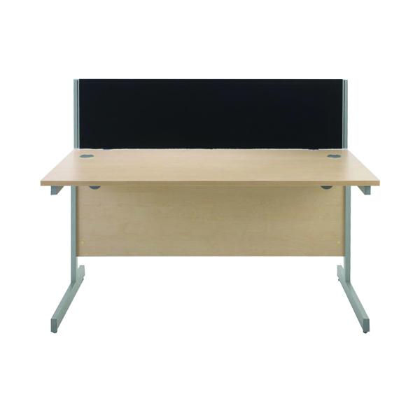 Desk Jemini Black 800mm Straight Desk Screen KF73910