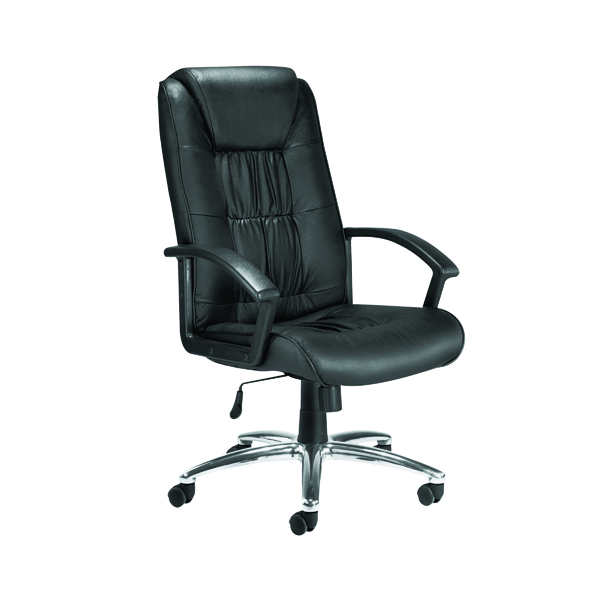 High Back Jemini Tiber Leather Chair KF74003