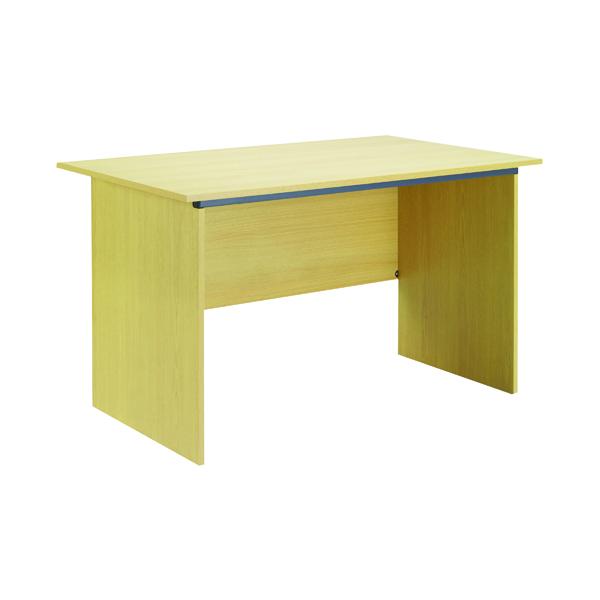 Serrion Ferrera Oak 1000mm Panel End Desk KF74126