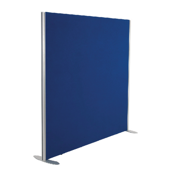 Straight Tops Jemini Blue 1200x1200 Floor Standing Screen Including Feet KF74326