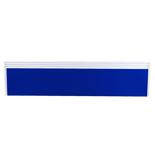 Arista 1500mm Blue Tool Rail Screen Including Brackets KF74348