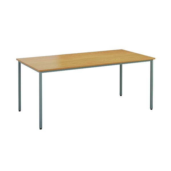 Rectangular Jemini Rectangular Desk 1200 x 800mm Nova Oak OMPT1280RECNO