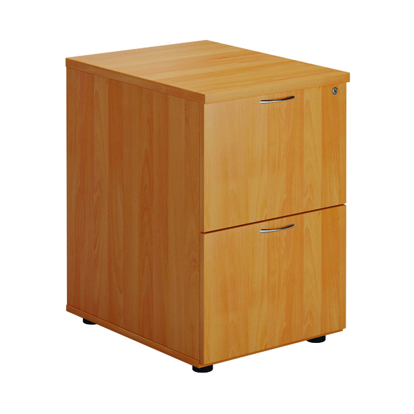 Two-Drawer First Two Drawer Filing Cabinet Beech TES2FCBE2