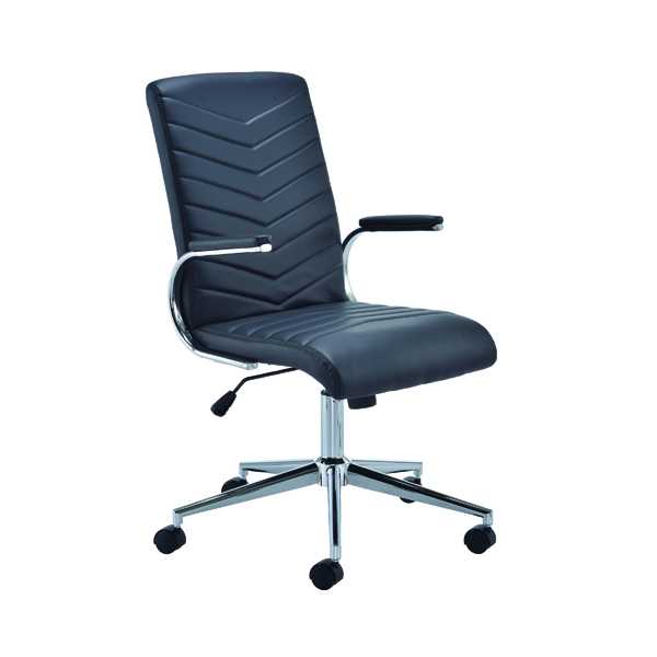 High Back Arista Tarragona Leather Look Chair KF74819