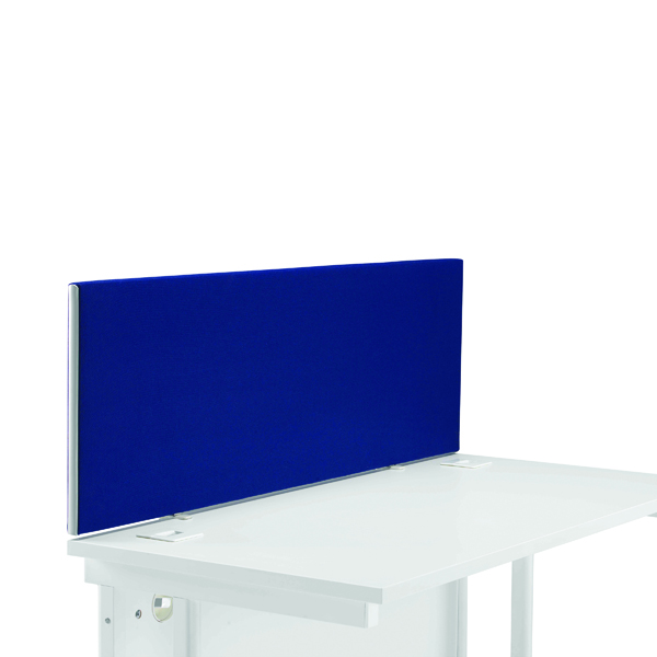 Desk First Desk Mounted Screen H400 x W1200 Special Blue KF74836