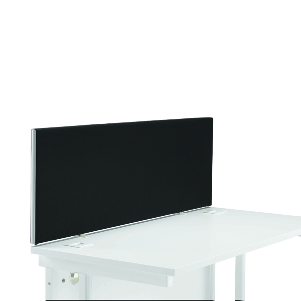 Desk First Desk Mounted Screen H400 x W1200 Special Black KF74837