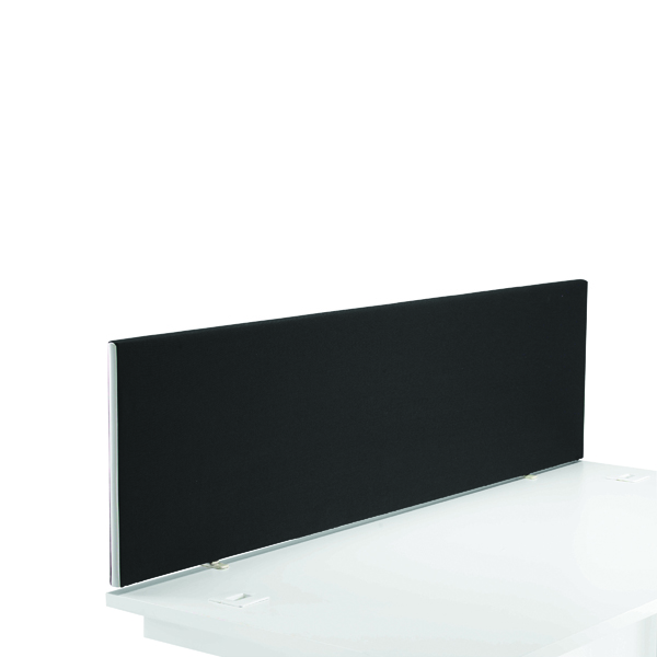Desk First Desk Mounted Screen H400 x W1400 Special Charcoal KF74839