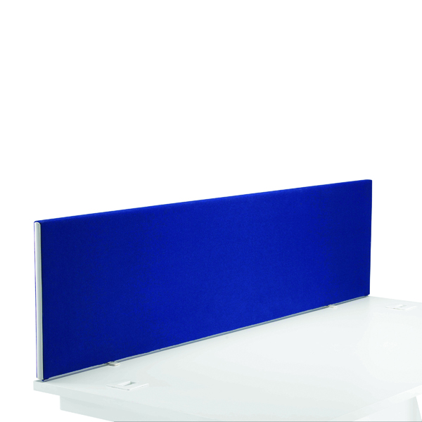 Desk First Desk Mounted Screen H400 x W1600 Special Blue KF74840