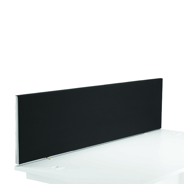 Desk First Desk Mounted Screen H400 x W1600 Special Black KF74841