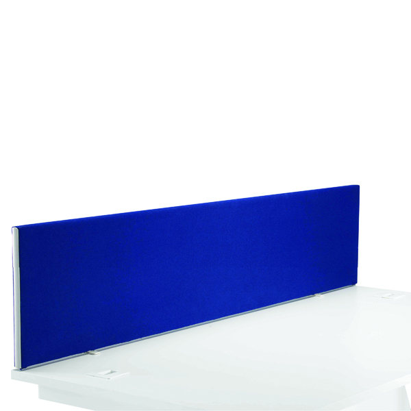 Desk First Desk Mounted Screen H400 x W1800 Special Blue KF74842