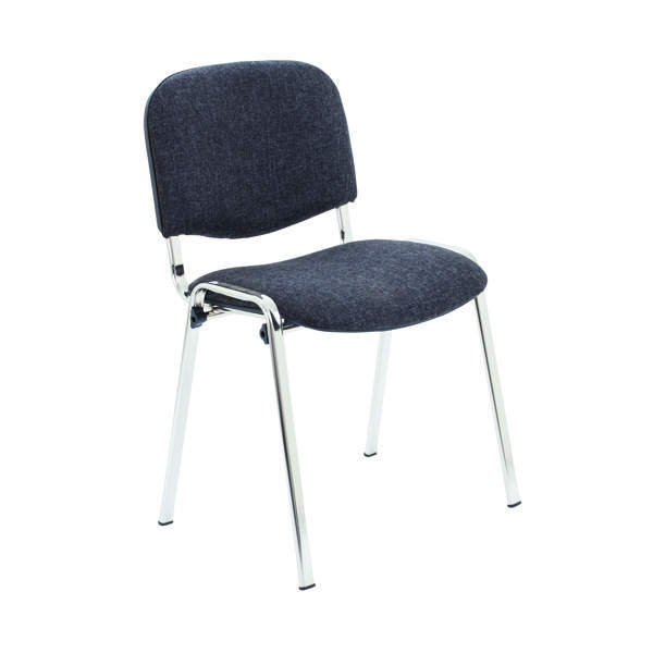 First Ultra Stacker Chair Charcoal KF74894